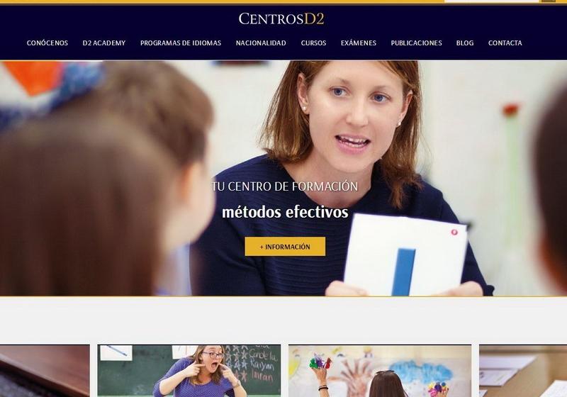 ¡Estrenamos nuevo sitio web en CentrosD2!